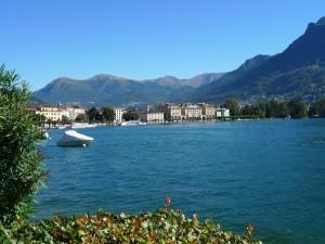 Lake shore Lugano